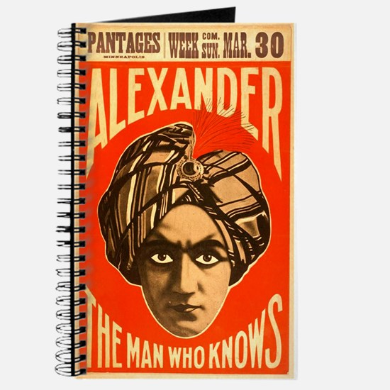 Alexander - The Man Who Knows Journal