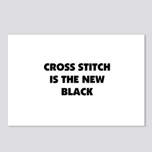 Cross Stitch is the New Black Postcards (Package o