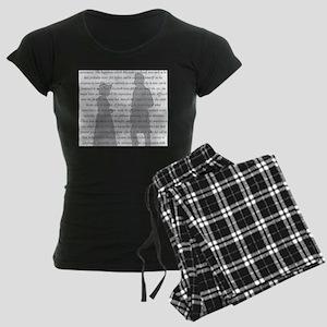 Pride and Prejudice Women's Dark Pajamas