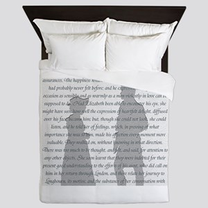 Pride and Prejudice Queen Duvet