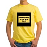 Scrapbooking is the New Black Yellow T-Shirt