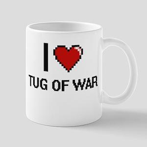 I Love Tug Of War Digital Design Mugs