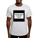 Scrapbooking is the New Black Light T-Shirt