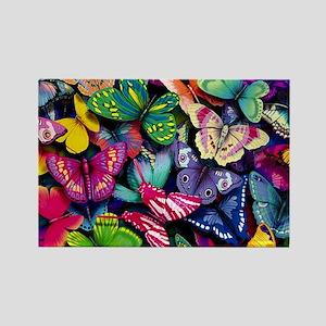 Field of Butterflies Rectangle Magnet