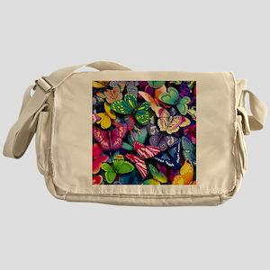 Field of Butterflies Messenger Bag