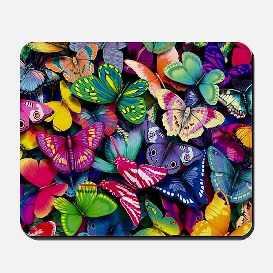 Field of Butterflies Mousepad