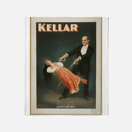 Kellar - Levitation 1 Throw Blanket