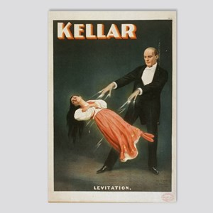 Kellar - Levitation 1 Postcards (package Of 8)