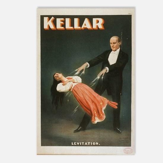 Kellar - Levitation 1 Postcards (package Of 8)