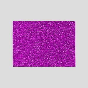 Sparkling Glitter 5'x7'Area Rug