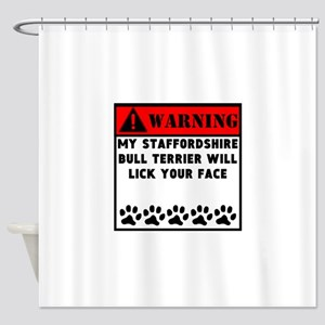 Staffordshire Bull Terrier Will Lick Your Face Sho