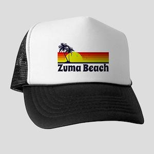 Zuma Beach California Trucker Hat