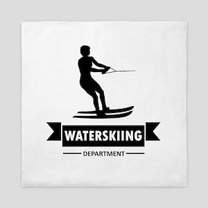 Waterskiing Department Queen Duvet