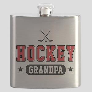 Hockey Grandpa Flask