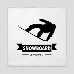 Snowboard Department Queen Duvet