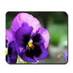 Purple Pansy Mousepad