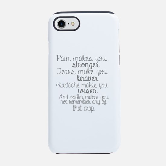vodka humor iPhone 8/7 Tough Case