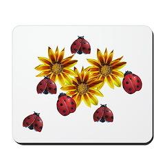 Ladybug Party Mousepad