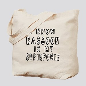 Bassoon is my superpower Tote Bag