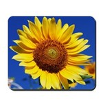 Sunflower Blue Sky Mouse Pad