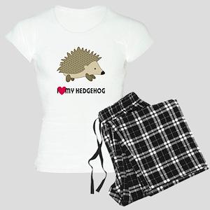 I Love My Hedgehog Women's Light Pajamas