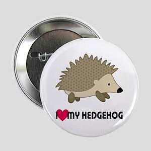 "I Love My Hedgehog 2.25"" Button"