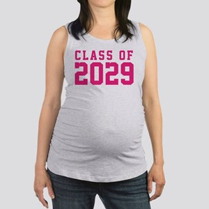 Class of 2029 Maternity Tank Top