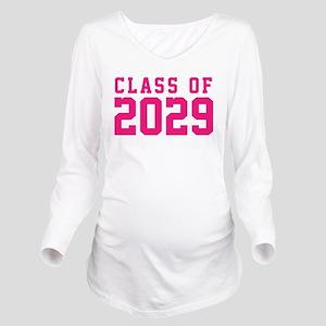 Class of 2029 Long Sleeve Maternity T-Shirt