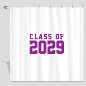 Class of 2029 Shower Curtain