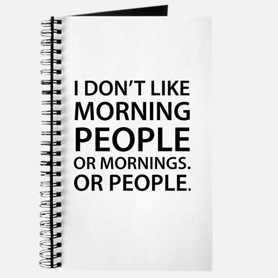 Morning People Journal