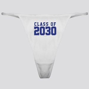 Class of 2030 Classic Thong