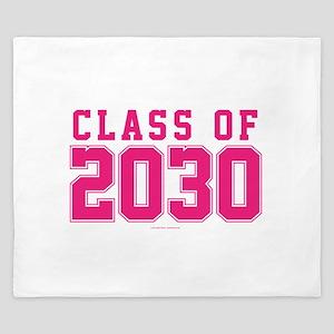 Class of 2030 King Duvet