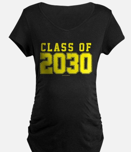 Class of 2030 Maternity T-Shirt