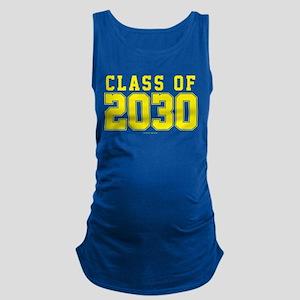 Class of 2030 Maternity Tank Top