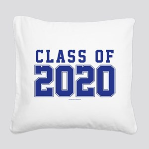 Class of 2020 Square Canvas Pillow