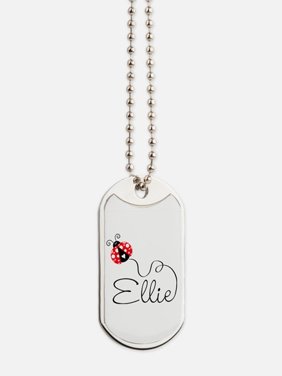 Ladybug Ellie Dog Tags