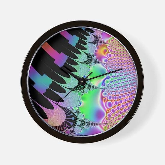 Cosmic Bubble Piano Wall Clock