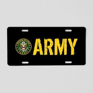 U.S. Army: Army Aluminum License Plate