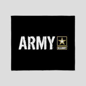 U.S. Army: Army (Black) Throw Blanket