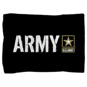 U.S. Army: Army (Black) Pillow Sham
