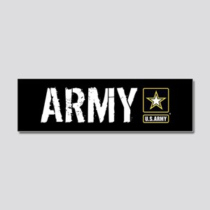 U.S. Army: Army (Black) Car Magnet 10 x 3
