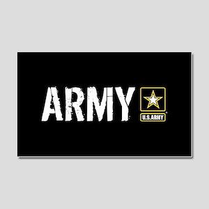U.S. Army: Army (Black) Car Magnet 20 x 12