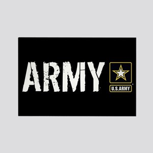 U.S. Army: Army (Black) Rectangle Magnet