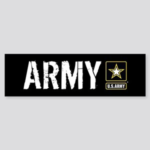 U.S. Army: Army (Black) Sticker (Bumper)