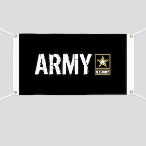 U.S. Army: Army (Black) Banner