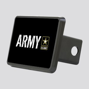 U.S. Army: Army (Black) Rectangular Hitch Cover