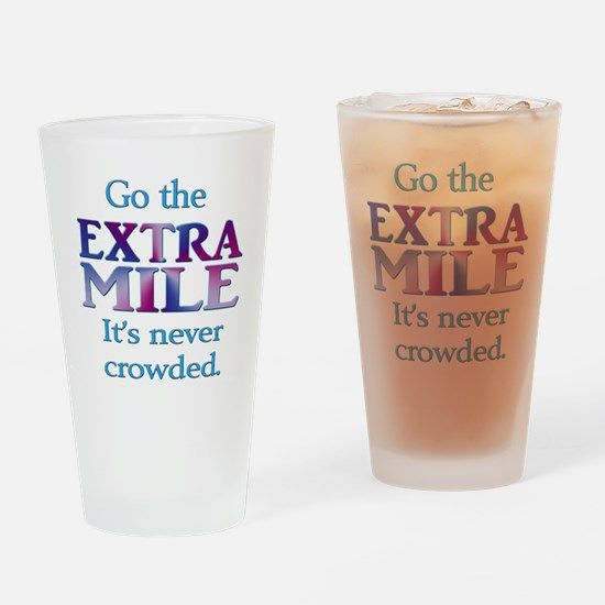 Extra Mile Drinking Glass