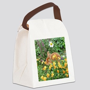 Springtime Mini Rex Canvas Lunch Bag