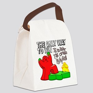The Only Way to Win Canvas Lunch Bag