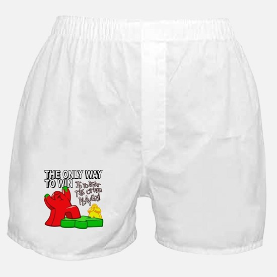 The Only Way to Win Boxer Shorts